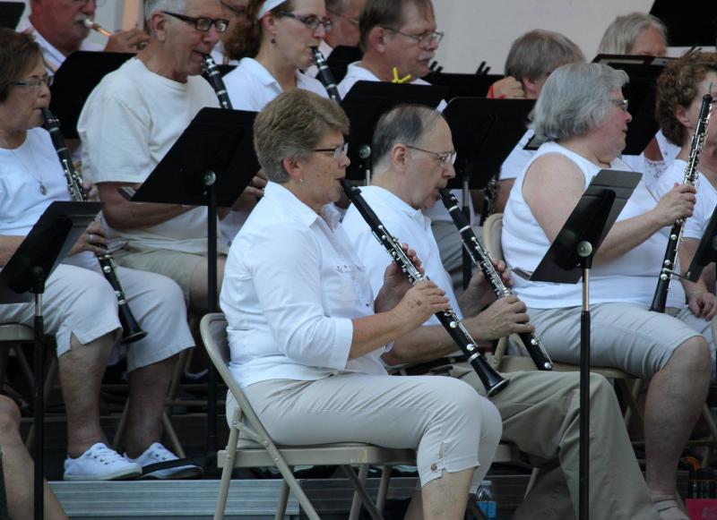 UNI New Horizons Band Clarinet Section