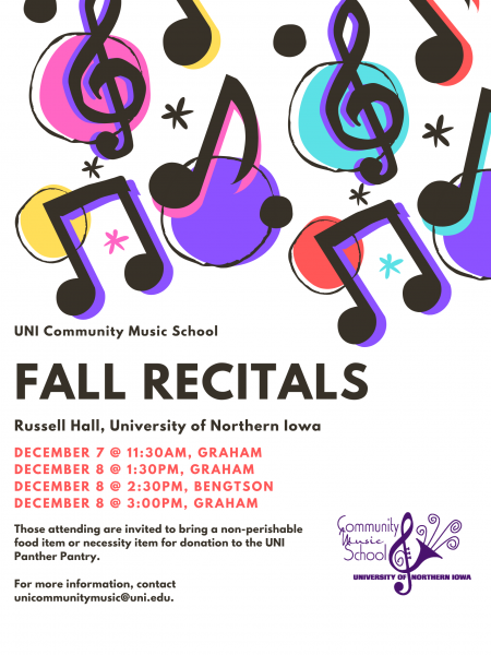 Fall Recitals