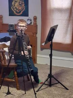 clarinet zoom lesson