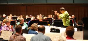 New Horizons Band Rehearsal