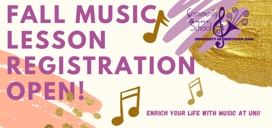 Fall Music Lesson Registration Open!