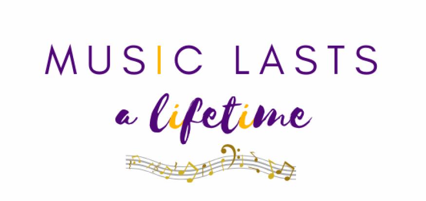 music lasts a lifetime