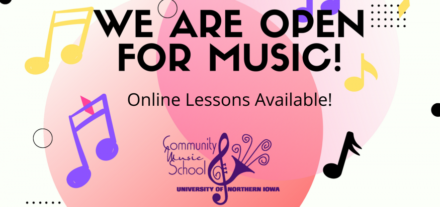 Online lessons available - cms.uni.edu